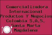Comercializadora Internacional Productos Y Negocios Colombia S.A.S. Santa Marta Magdalena