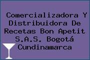 Comercializadora Y Distribuidora De Recetas Bon Apetit S.A.S. Bogotá Cundinamarca