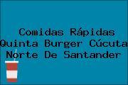 Comidas Rápidas Quinta Burger Cúcuta Norte De Santander