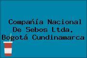 Compañía Nacional De Sebos Ltda. Bogotá Cundinamarca