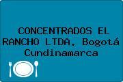 CONCENTRADOS EL RANCHO LTDA. Bogotá Cundinamarca