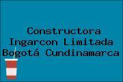Constructora Ingarcon Limitada Bogotá Cundinamarca