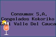 Consumax S.A. Congelados Kokoriko Cali Valle Del Cauca