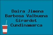 Daira Jimena Barbosa Valbuena Girardot Cundinamarca