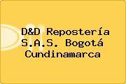 D&D Repostería S.A.S. Bogotá Cundinamarca