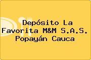 Depósito La Favorita M&M S.A.S. Popayán Cauca