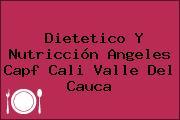 Dietetico Y Nutricción Angeles Capf Cali Valle Del Cauca