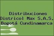 Distribuciones Districol Max S.A.S. Bogotá Cundinamarca