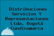 Distribuciones Servicios Y Representaciones Ltda. Bogotá Cundinamarca