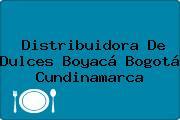Distribuidora De Dulces Boyacá Bogotá Cundinamarca