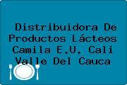 Distribuidora De Productos Lácteos Camila E.U. Cali Valle Del Cauca