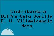 Distribuidora Dilfre Cely Bonilla E. U. Villavicencio Meta