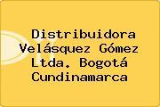 Distribuidora Velásquez Gómez Ltda. Bogotá Cundinamarca
