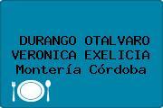 DURANGO OTALVARO VERONICA EXELICIA Montería Córdoba