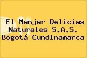 El Manjar Delicias Naturales S.A.S. Bogotá Cundinamarca