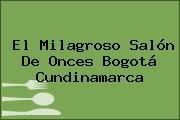El Milagroso Salón De Onces Bogotá Cundinamarca