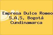 Empresa Dulce Romeo S.A.S. Bogotá Cundinamarca