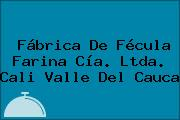 Fábrica De Fécula Farina Cía. Ltda. Cali Valle Del Cauca