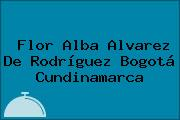 Flor Alba Alvarez De Rodríguez Bogotá Cundinamarca