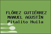 FLÓREZ GUTIÉRREZ MANUEL AGUSTÍN Pitalito Huila