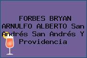 FORBES BRYAN ARNULFO ALBERTO San Andrés San Andrés Y Providencia
