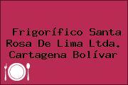 Frigorífico Santa Rosa De Lima Ltda. Cartagena Bolívar