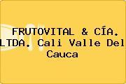 FRUTOVITAL & CÍA. LTDA. Cali Valle Del Cauca