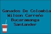 Ganados De Colombia Wilson Carreño Bucaramanga Santander