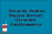 Gerardo Andres Ospina Bernal Girardot Cundinamarca