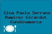 Gina Paola Serrano Ramirez Girardot Cundinamarca