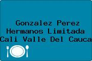 Gonzalez Perez Hermanos Limitada Cali Valle Del Cauca