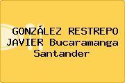 GONZÁLEZ RESTREPO JAVIER Bucaramanga Santander