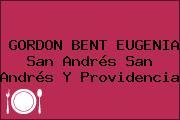 GORDON BENT EUGENIA San Andrés San Andrés Y Providencia