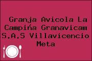 Granja Avicola La Campiña Granavicam S.A.S Villavicencio Meta