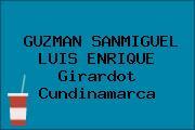 GUZMAN SANMIGUEL LUIS ENRIQUE Girardot Cundinamarca