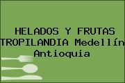 HELADOS Y FRUTAS TROPILANDIA Medellín Antioquia