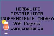 HERBALIFE DISTRIBUIDOR INDEPENDIENTE ANDREA VAR Bogotá Cundinamarca
