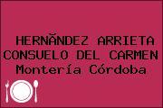 HERNÃNDEZ ARRIETA CONSUELO DEL CARMEN Montería Córdoba