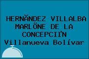 HERNÃNDEZ VILLALBA MARLÕNE DE LA CONCEPCIµN Villanueva Bolívar