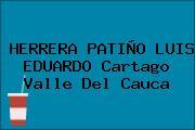 HERRERA PATIÑO LUIS EDUARDO Cartago Valle Del Cauca