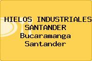 HIELOS INDUSTRIALES SANTANDER Bucaramanga Santander