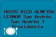 HOYOS RICO ALMEYDA LEONOR San Andrés San Andrés Y Providencia