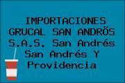 IMPORTACIONES GRUCAL SAN ANDRÕS S.A.S. San Andrés San Andrés Y Providencia