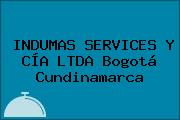 INDUMAS SERVICES Y CÍA LTDA Bogotá Cundinamarca
