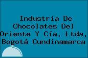 Industria De Chocolates Del Oriente Y Cía. Ltda. Bogotá Cundinamarca