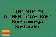INDUSTRIAS ALIMENTICIAS BAEZ Bucaramanga Santander