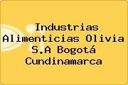 Industrias Alimenticias Olivia S.A Bogotá Cundinamarca