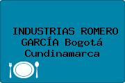 INDUSTRIAS ROMERO GARCÍA Bogotá Cundinamarca