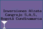 Inversiones Alzate Cangrejo S.A.S. Bogotá Cundinamarca