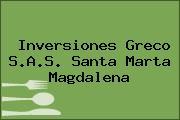 Inversiones Greco S.A.S. Santa Marta Magdalena